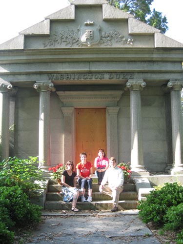 Visiting the Duke Family Mausoleum
