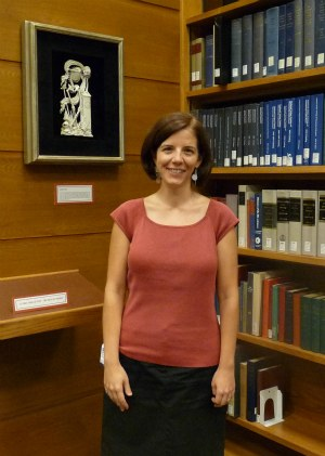 Rachel Ingold, Curator of the History of Medicine Collections