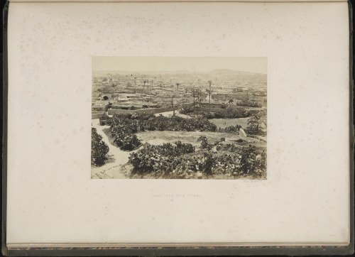 Photo of Gaza from Photographs of the Holy Land