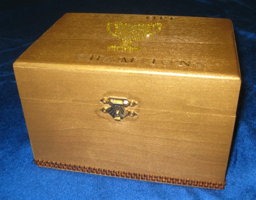 The Golden Recipe Box