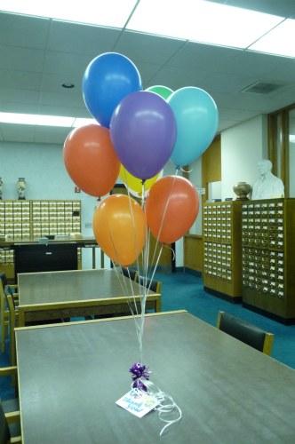 Our Balloon Bouquet