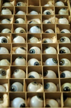 49 Glass Eyeballs