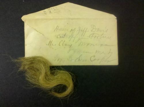 Jefferson Davis' Hair