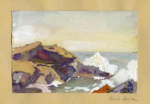 Painting by Doris Duke, 1924