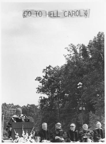 Duke University Commencement, 1979