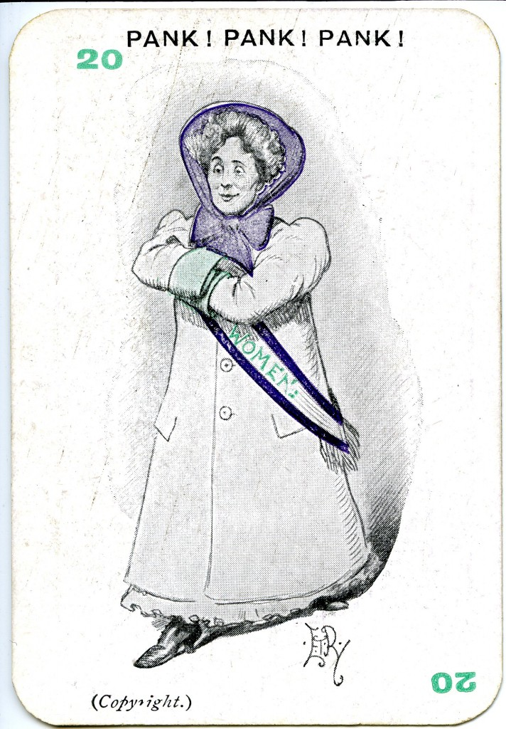 Pank! Pank! Pank! for Emmeline Pankhurst