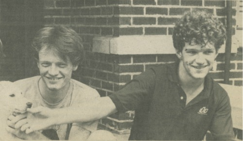 Jared Harris and Jeff Bennett, The Chronicle, September 23, 1982