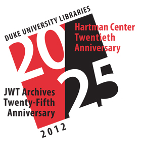 Hartman Center 20th Anniversary Logo
