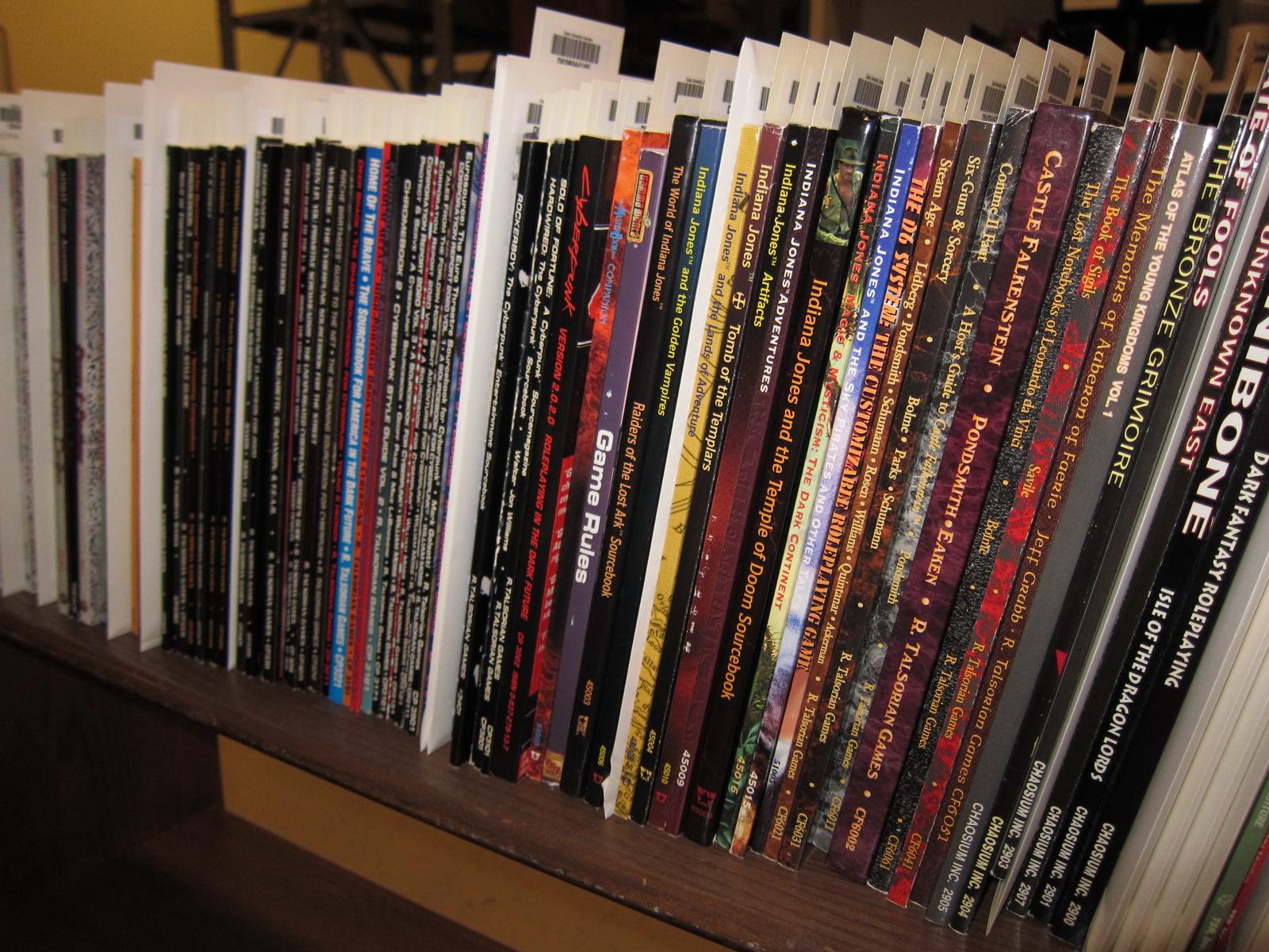 RPG books – a thing of beauty   Kaitharshayr's Musings