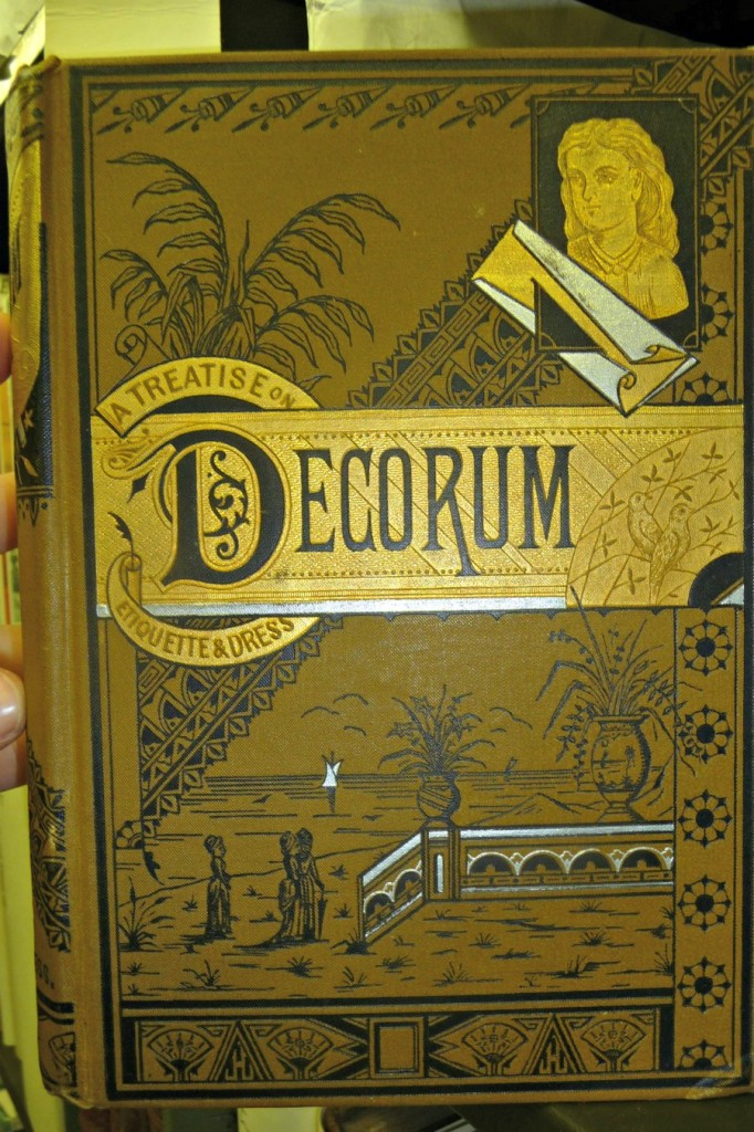 Decorum : a practical treatise on etiquette and dress of the best American society