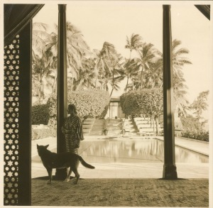Doris Duke at Shangri-La, ca. 1960-65.  From the Doris Duke Charitable Foundation Historical Archives.