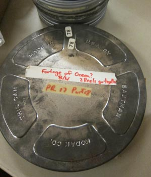 """Footage of Ocean"" Reel from the Freewater Films Collection"