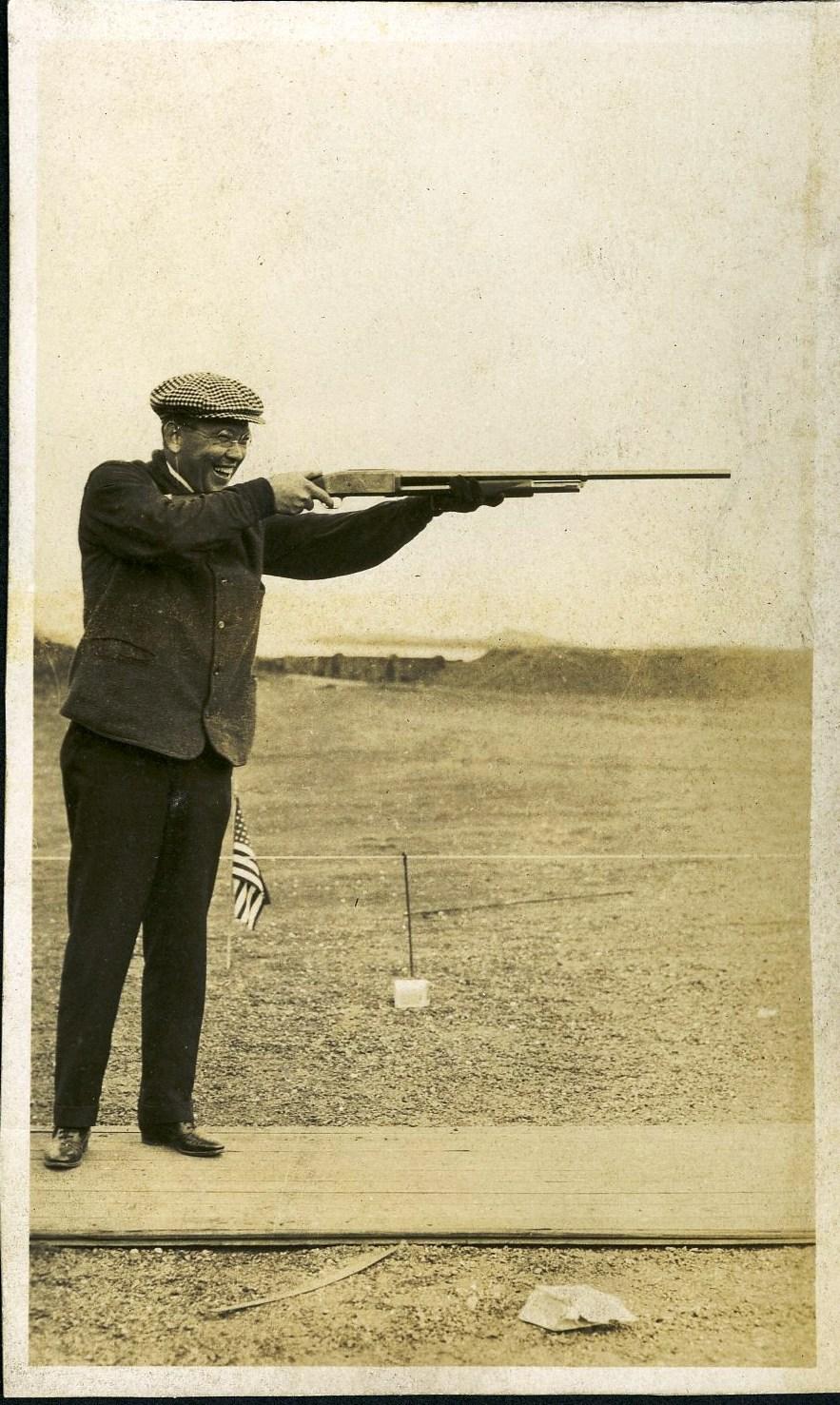 George Lyon, professional trapshooter.