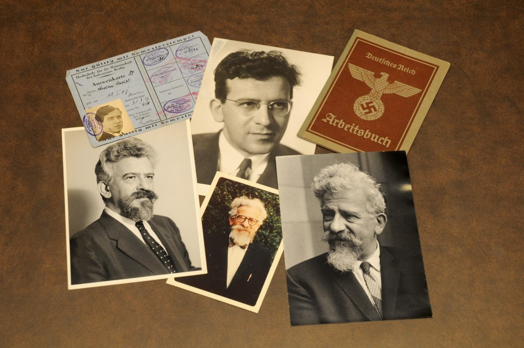 Photographs and other items from the Abraham Joshua Heschel Papers.