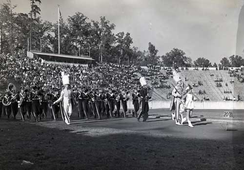 Duke University Marching Band, October 28, 1939