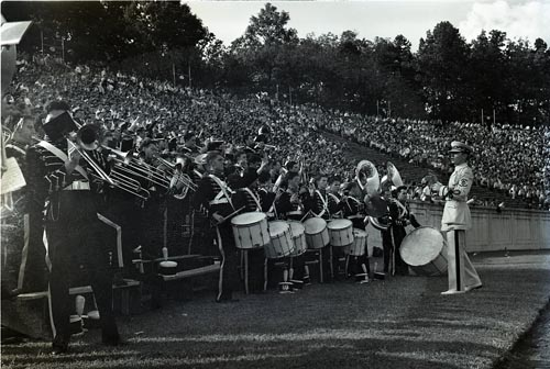 Duke University Marching Band, October 7, 1939
