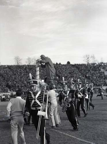 Duke University Marching Band and Blue Devil, 1940