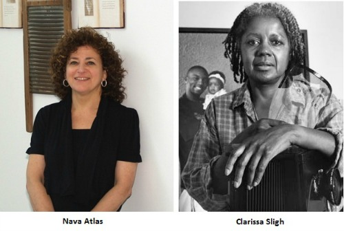 Photos of Nava Atlas and Clarissa Sligh