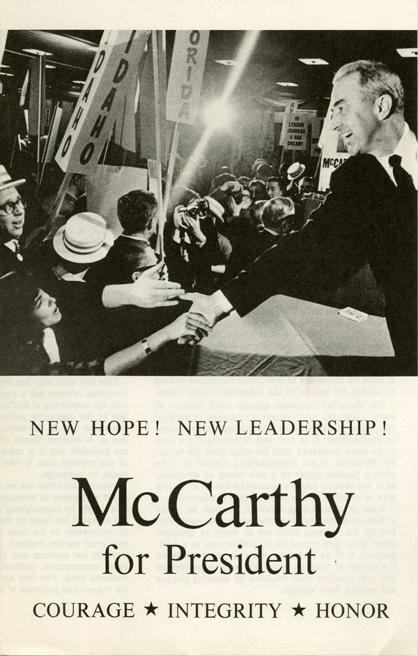 McCarthy for President - Blog