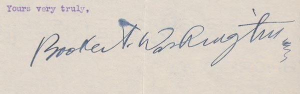 booker-t-washington-autograph
