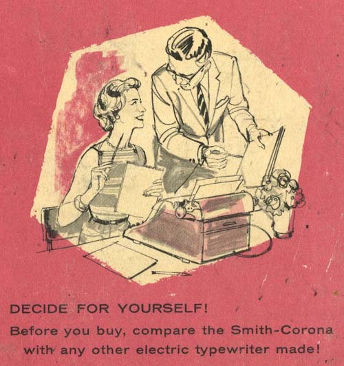 Image from Smith-Corona's Complete Secretary's Handbook (1951)