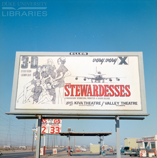 "Billboard for ""Stewardesses"""