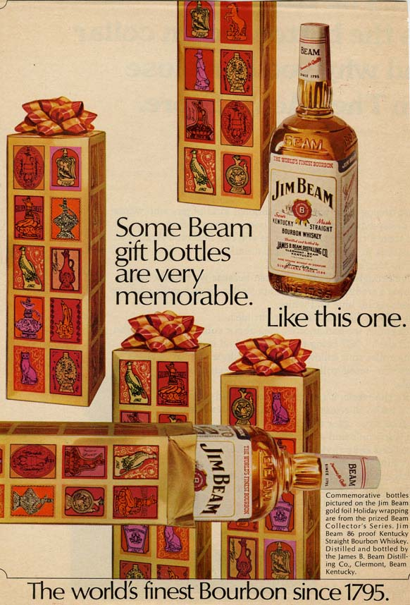 Advertisement for Jim Beam Bourbon