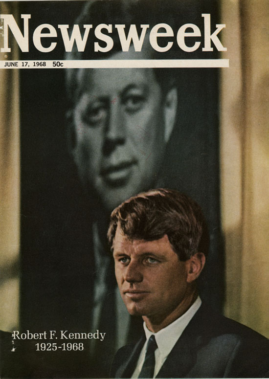 Robert F Kennedy Newsweek Cover