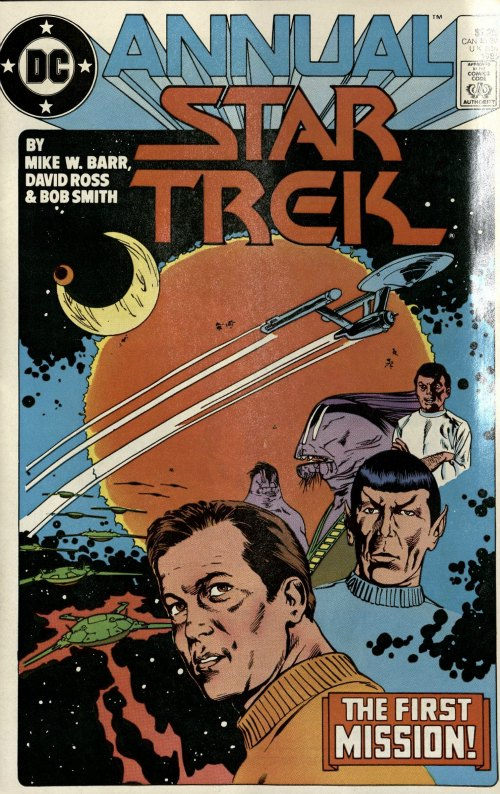 """All Those Years Ago"" Star Trek Annual v. 1 #1 (1985), DC Comics"