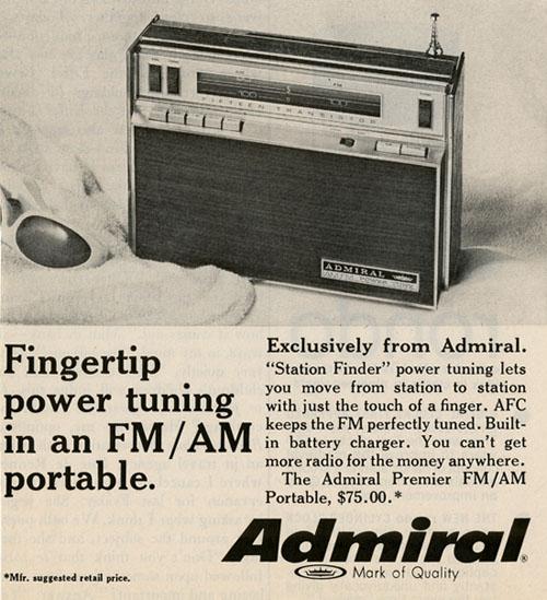 admiral radio - blog
