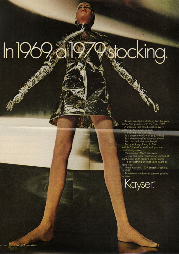 Advertisement for Kayser Stockings