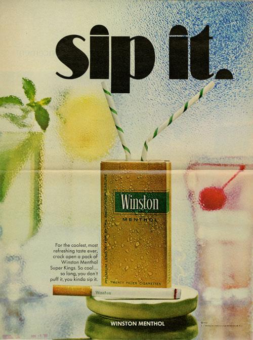 winston menthol - Blog