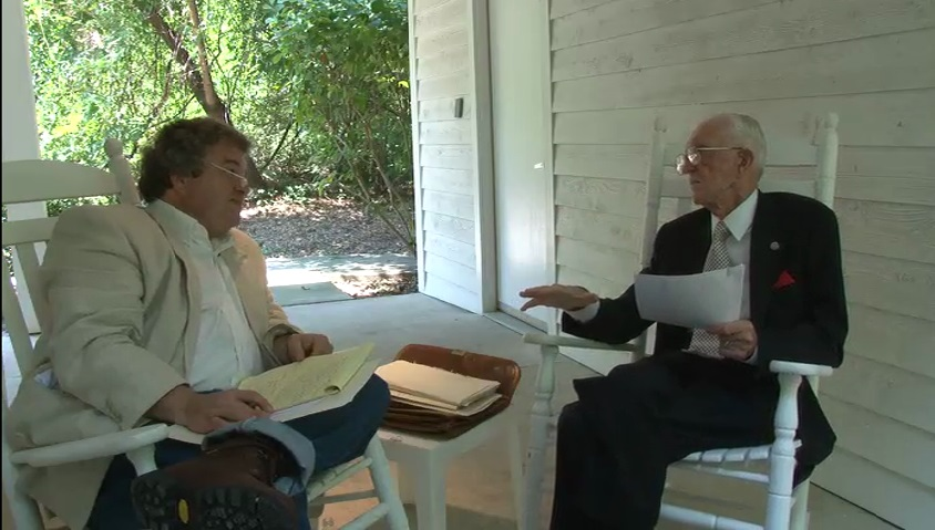 Wense Grabarek in conversation with Tim Tyson, Sept. 2011