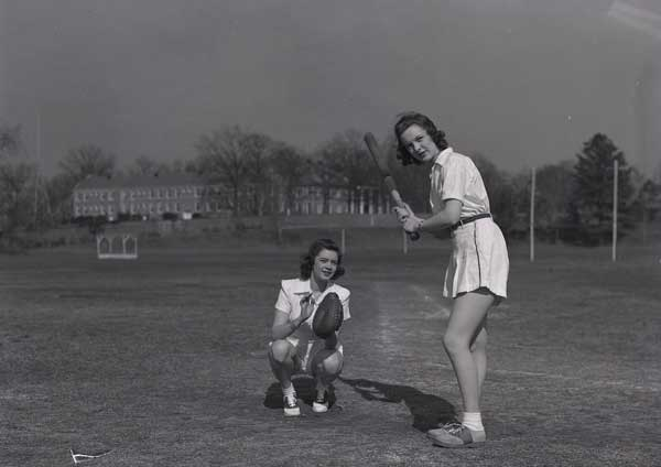 Baseball, Women's Athletic Association, 1941