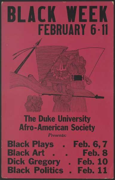 Black Week Poster, 1969