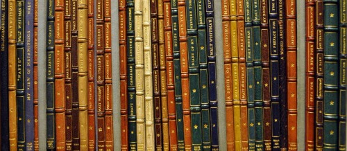 Bound volumes of manuscripts in the Trent Collection of Whitmaniana.