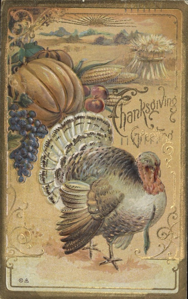 thanskgiving postcard