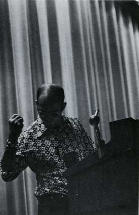 Hunter S. Thompson at Page Auditorium