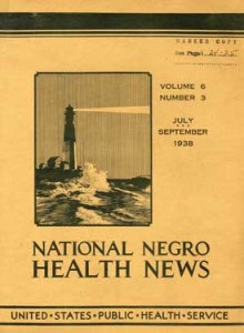 National Negro Health News. From the Alliance for Guidance of Rural Youth Records.