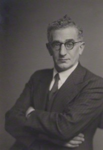 Image of Leon Simon, taken from London's National Portrait Gallery.