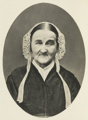 Louisa Van Velsor Whitman. From the Trent Collection of Whitmaniana.