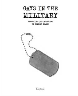 Cover of Gays in the Military by Vincent Cianni