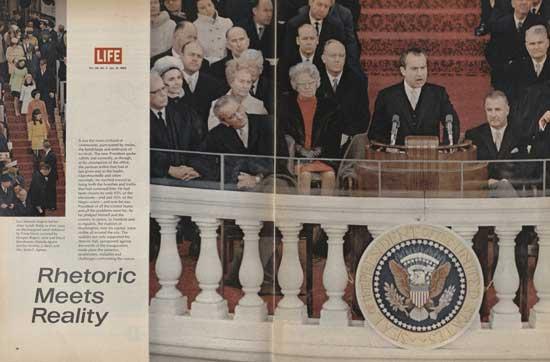 Nixon Inauguration, Life Magazine