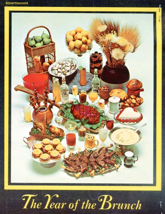 The Year of the Brunch Booklet