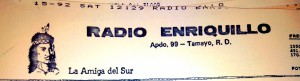 Logo for Radio Enriquillo, a station in the Dominican Republic