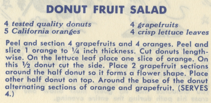 Donut Fruit Salad