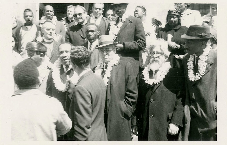 Heschel-snapshot of Selma March