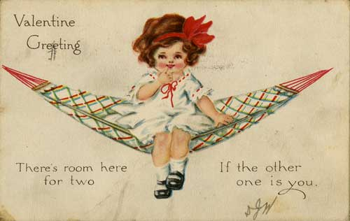 Valetine, undated. From the Postcard Collection.