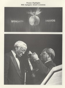 Program from 80th Spingarn Medal program, 1995