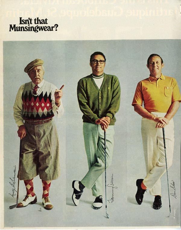 8 Golf wear